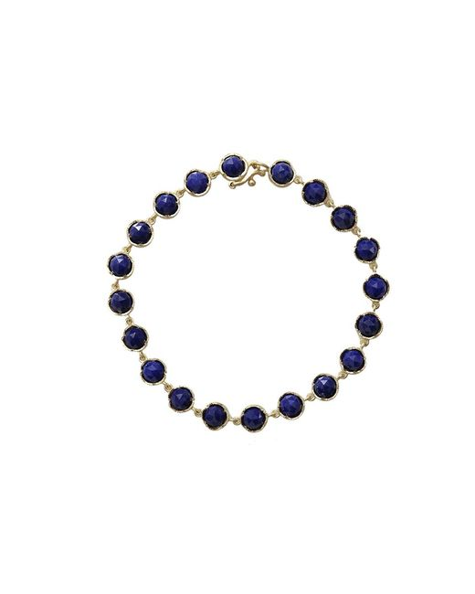 Irene Neuwirth | Blue Rose Cut Lapis Bracelet | Lyst