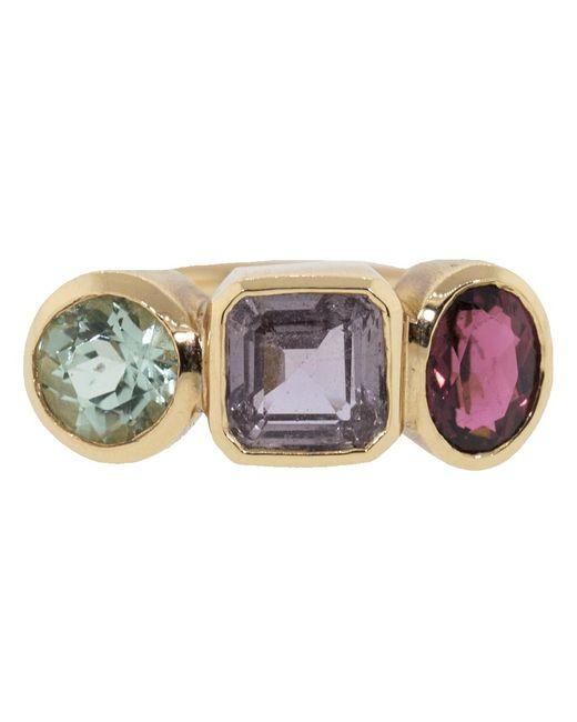 Irene Neuwirth - Multicolor Mixed Tourmaline Ring - Lyst