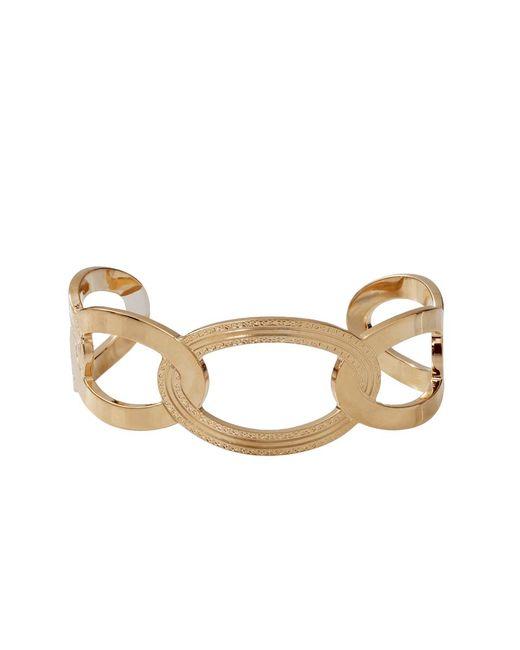 Rebecca | Metallic Elizabeth Circle Cuff Bracelet | Lyst