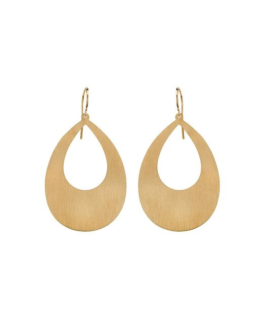 Irene Neuwirth | Metallic Pear Shape Earrings | Lyst