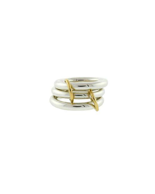 Spinelli Kilcollin | Metallic Mercury Sg Three Link Rings | Lyst