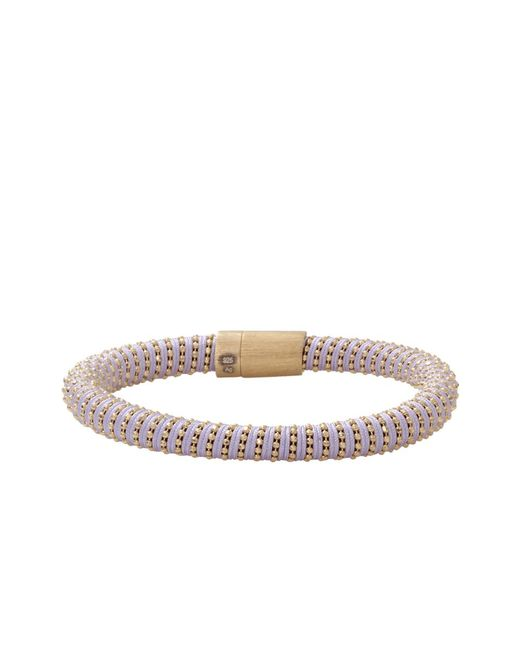 Carolina Bucci | Purple Lilac Twister Band Bracelet | Lyst