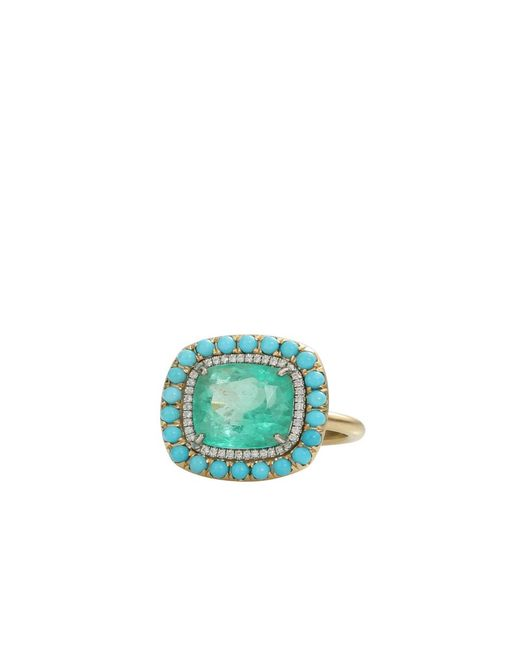 Irene Neuwirth | Green Colombian Emerald Ring | Lyst