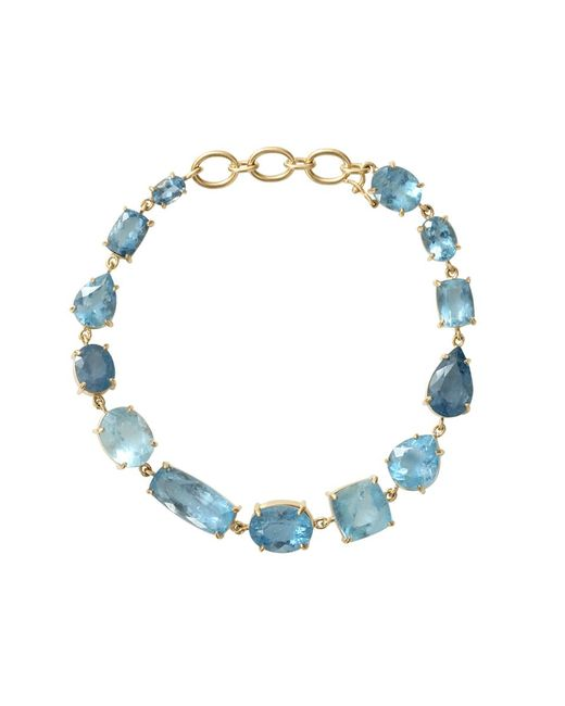 Irene Neuwirth | Blue Mixed Shape Fine Aquamarine Bracelet | Lyst