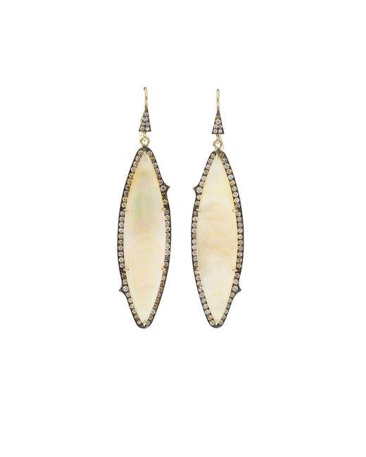 Sylva & Cie | Metallic Mother-of-pearl Earrings | Lyst