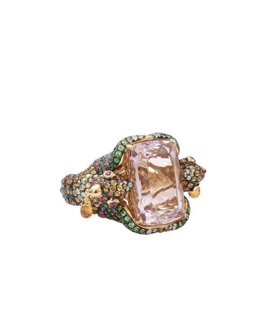 Wendy Yue | Metallic Kunzite Bird Ring | Lyst