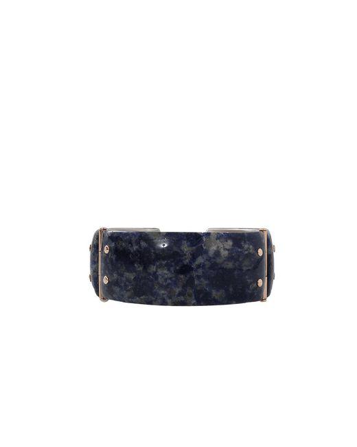 Federica Rettore | Metallic Gea Sodalite Cuff | Lyst