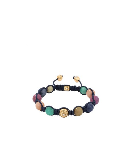 Shamballa Jewels | Multicolor Mixed Stone Beaded Bracelet | Lyst