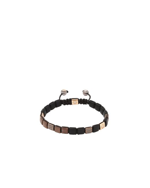 Shamballa Jewels | Brown Sapphire Lock Bracelet | Lyst