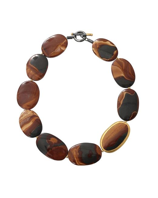 Yossi Harari | Brown Tiger Eye Agate Necklace | Lyst