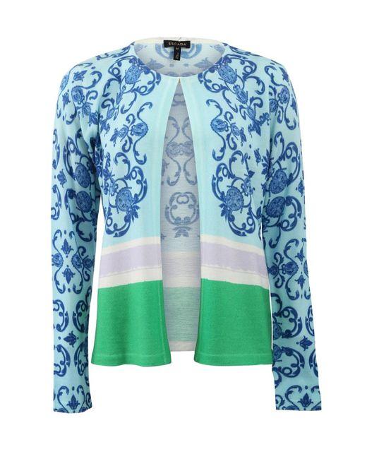ESCADA | Multicolor Seltam Cardigan | Lyst