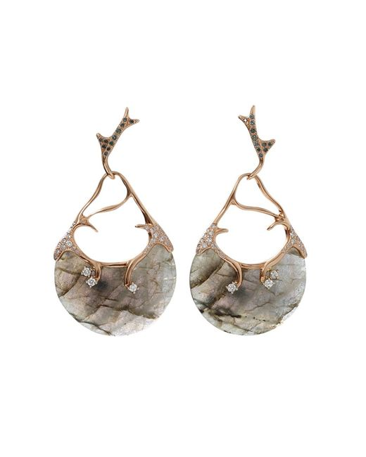 Federica Rettore | Gray Gea Labradorite Earrings | Lyst