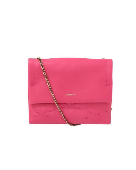 Lanvin | Pink Sugar Mini Shoulder Bag | Lyst