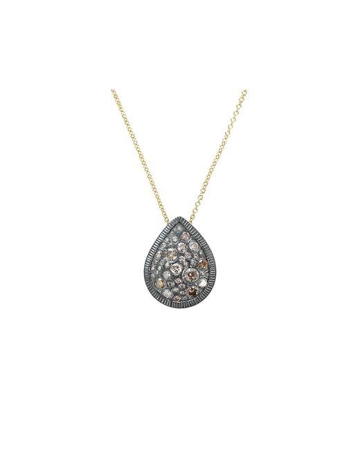 Todd Reed   Metallic Autumn Mixed Diamond Pear Necklace   Lyst
