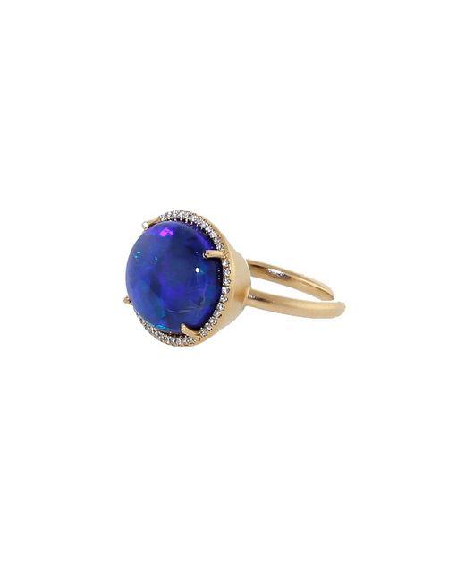 Irene Neuwirth - Multicolor Opal Diamond Pave Ring - Lyst