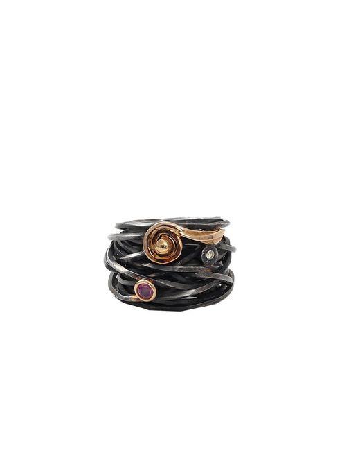 Boaz Kashi | Metallic Tourmaline Wire Wrap Ring | Lyst