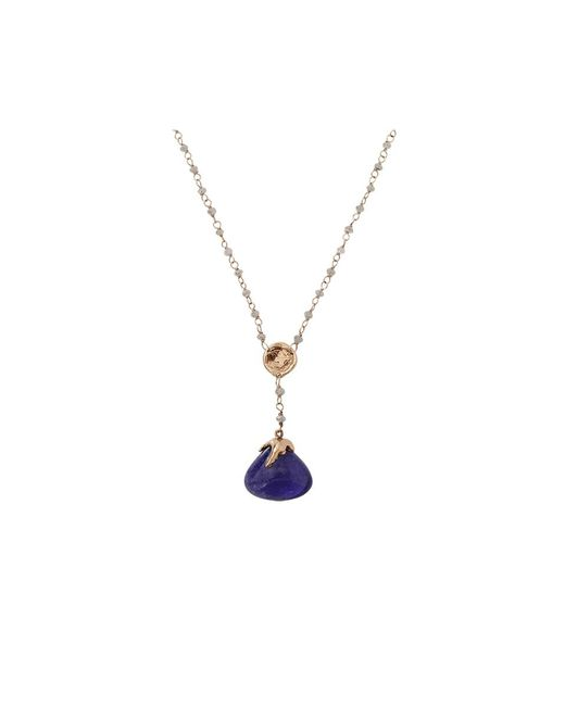 Lucifer Vir Honestus | Blue Tanzanite Rosario Necklace | Lyst