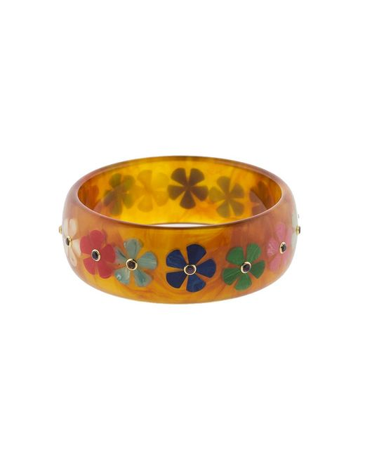 Mark Davis - Multicolor Tortoise Bakelite Bangle - Lyst