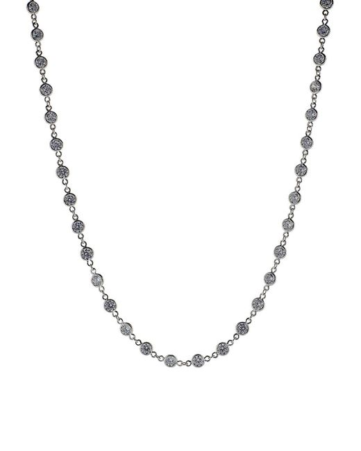 Fantasia Jewelry - Multicolor Many Stone Cubic Zirconia Necklace - Lyst