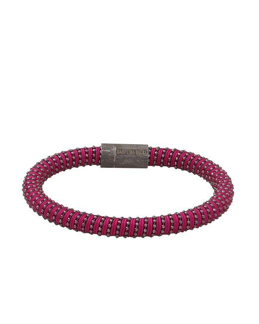Carolina Bucci - Purple Magenta Twister Band Bracelet - Lyst