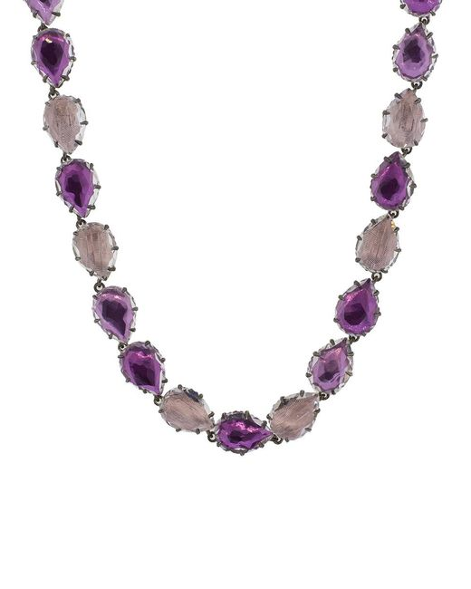 Larkspur & Hawk - Metallic Caterina Necklace - Lyst