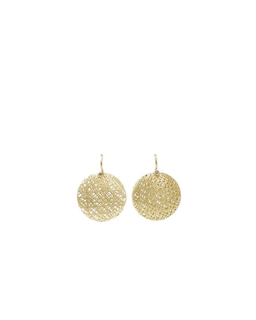 Yossi Harari - Metallic Medium Lace Earrings - Lyst