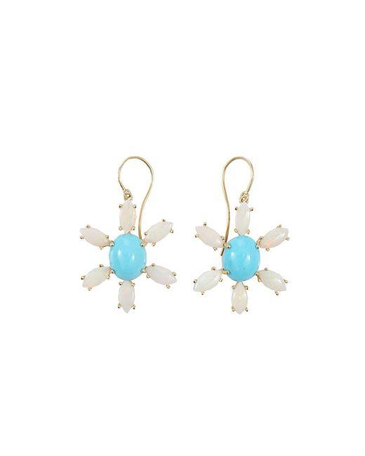 Andrea Fohrman - Blue Sleeping Beauty Turquoise Earrings - Lyst