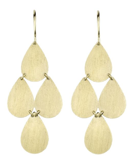 Irene Neuwirth - Yellow Four-drop Chandelier Earrings - Lyst