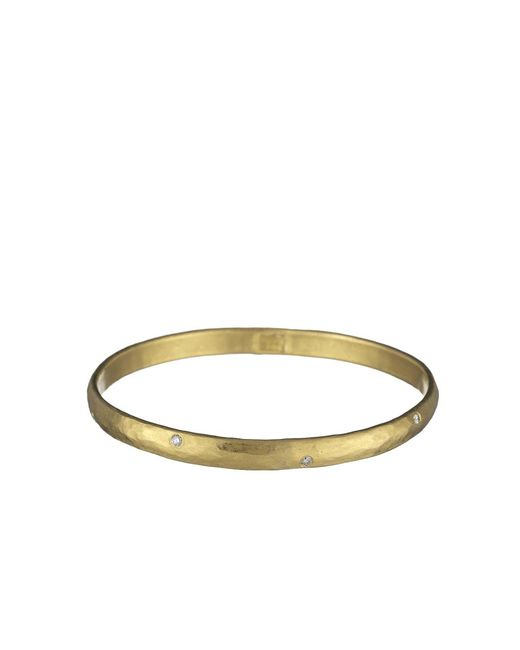 Yossi Harari | Yellow Mica Medium Bangle With Diamonds | Lyst