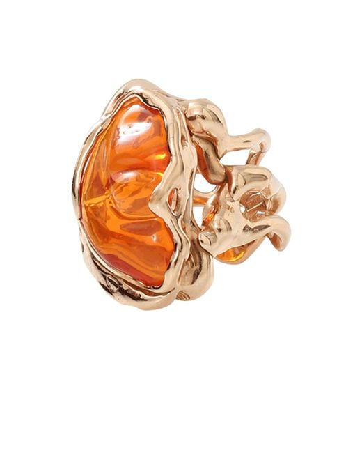 Lucifer Vir Honestus - Orange Fire Opal Ring - Lyst