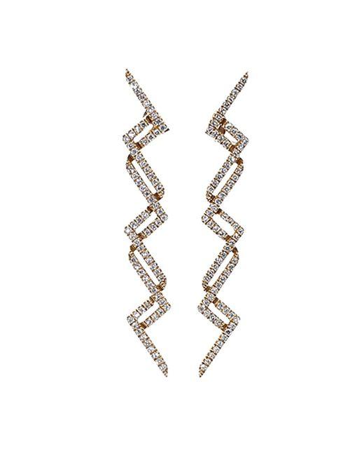 Dana Rebecca   Metallic Sylvie Rose Diamond Earrings   Lyst
