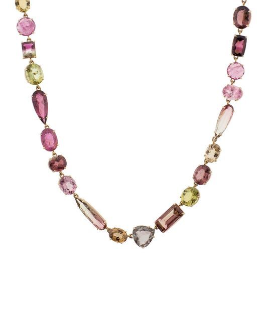 Irene Neuwirth - Multicolor Mixed Color Tourmaline Necklace - Lyst