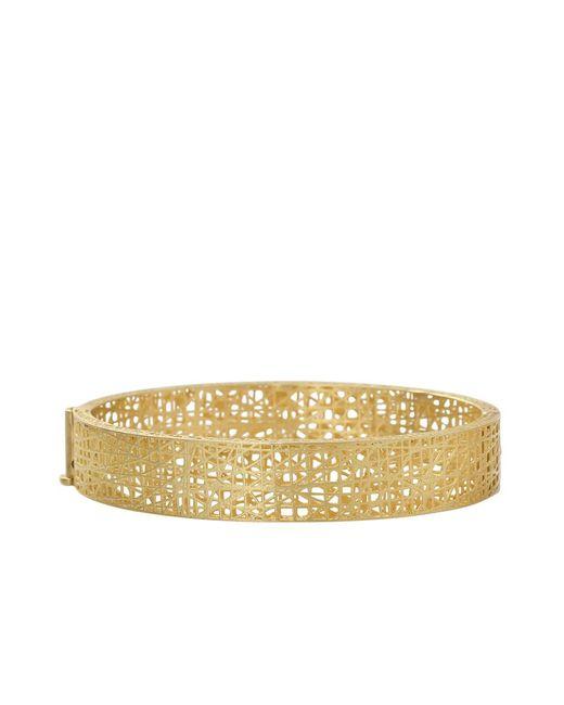 Yossi Harari | Metallic Champagne Diamond Lace Cuff | Lyst