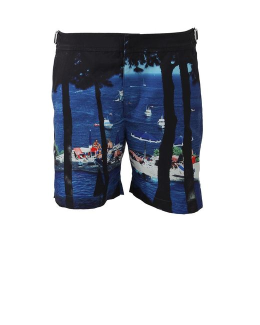 Orlebar Brown - Blue Bulldog Hulton Getty Short for Men - Lyst
