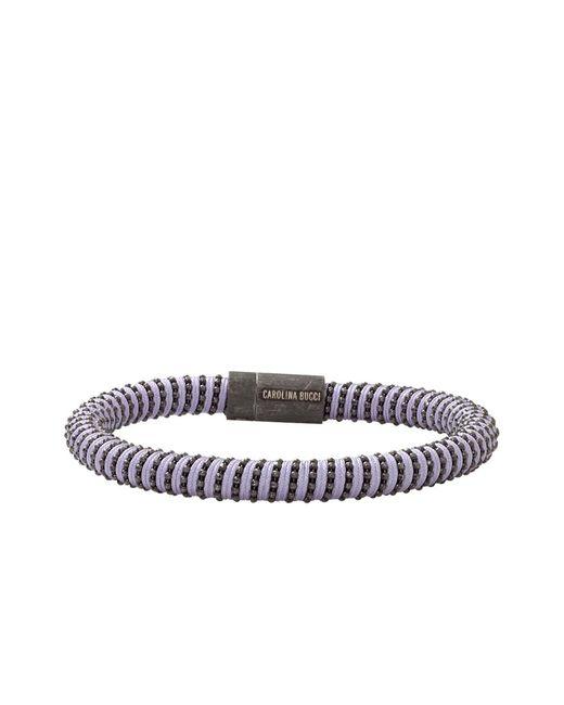 Carolina Bucci | Purple Lilac Twister Band Bracelet | Lyst