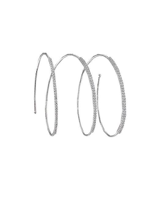 Mattia Cielo | White Rugiada Diamond Pave Bracelet | Lyst