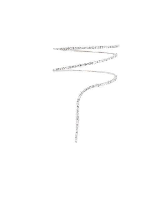 Mattia Cielo - White Rugiada Diamond Tennis Drop Bracelet - Lyst