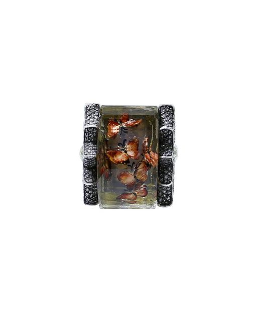 Sevan Biçakci | Multicolor Carved Butterfly Garden Ring | Lyst