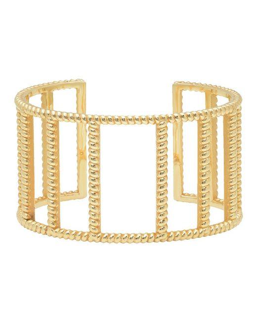 Nancy Newberg - Metallic Twist Frame Cuff Bracelet - Lyst