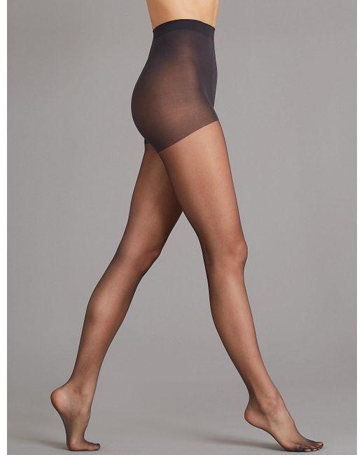 Marks Spencer Multicolor 7 Denier Cool Comforttm Slimming Illusion Sheer Tights
