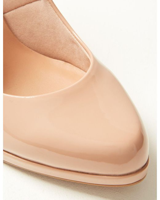 d8aff3d911d ... Lyst Marks   Spencer - Natural Wide Fit Stiletto Heel Court Shoes ...