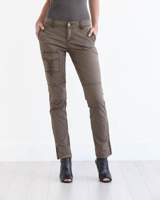 Marrakech   Brown Ruby Slim Cargo Pant   Lyst