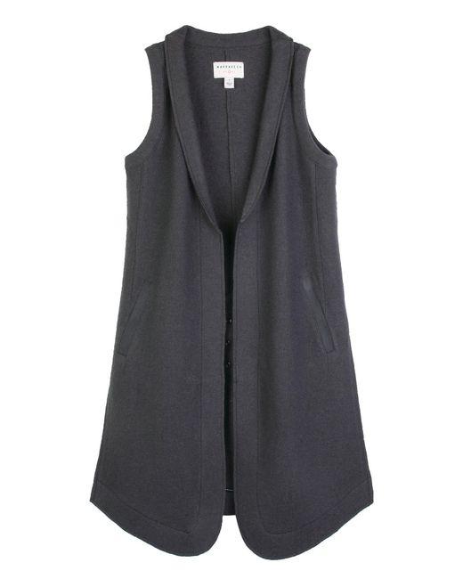 Marrakech - Gray Azure Wool Vest - Lyst