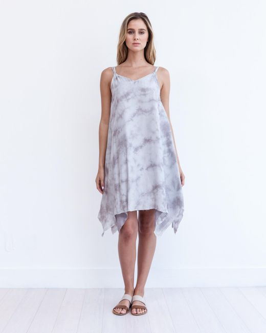 Marrakech | Gray Seychelles Slip Dress | Lyst