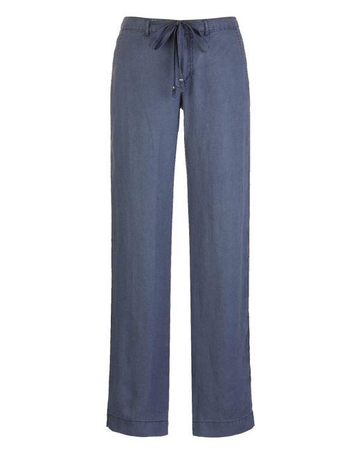 Marrakech | Blue Kimmy Linen Trouser | Lyst