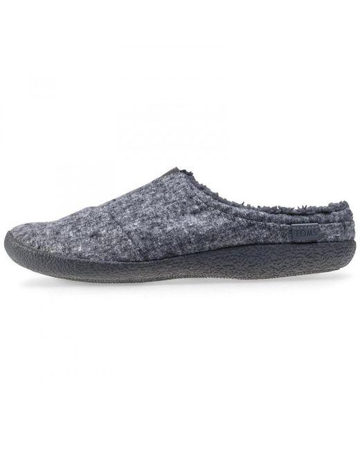 70f37efd2ba9 ... TOMS - Gray Berkeley Indoor Outdoor House Slippers for Men - Lyst ...