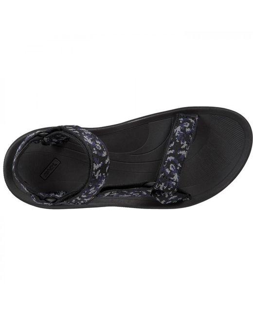 b32726964 ... Teva - Black Winsted Adjustable Walking Sandals for Men - Lyst ...