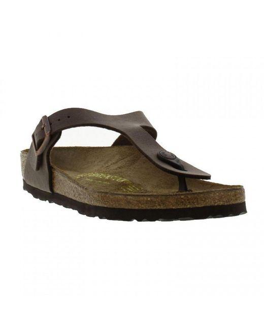 Birkenstock - Multicolor Gizeh Toe Post Sandals Regular Fit - Lyst