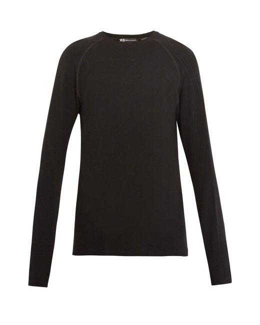 Y-3 - Black X James Harden Compression T-shirt for Men - Lyst