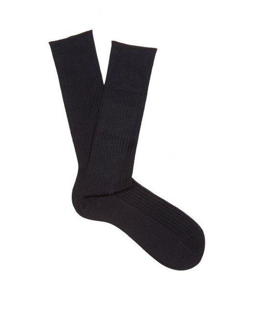 Falke - Blue N°10 Cotton Socks for Men - Lyst